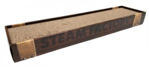 Croci krabplank homedecor wenge houtprint donkerbruin (48X12,5X5 CM)