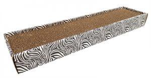 Croci krabplank homedecor dierenprint zebra (48X12,5X5 CM)