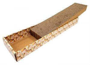 Croci krabplank homedecor textuur goud (48X12,5X5 CM)