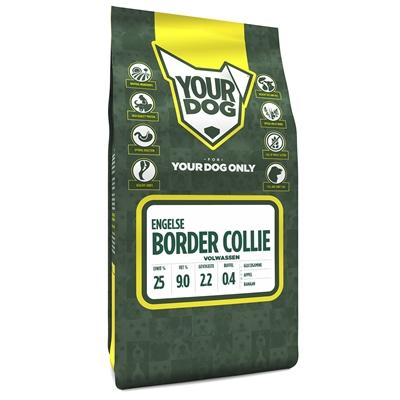 Yourdog engelse bordercollie volwassen (3 KG)