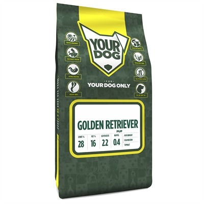 Yourdog golden retriever pup (3 KG)