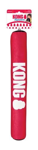 Kong signature stick rood / zwart (61X6X6 CM)